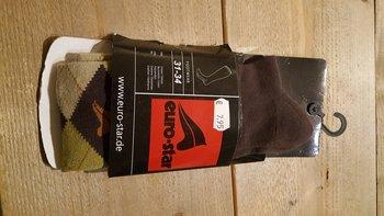 Sokken Eurostar bruin 31-34