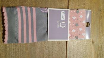 Sokken Imperial riding ster roze 38-41
