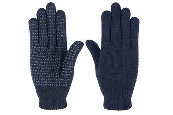 H.H. Magic gloves handschoenen navy (volwassen)