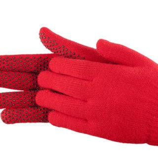 H.H. Magic gloves handschoenen rood (volwassen)
