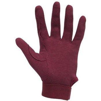 Katoenen handschoenen rood (8 jaar)