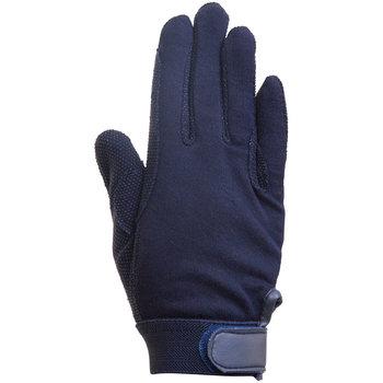 Katoenen handschoenen , navy